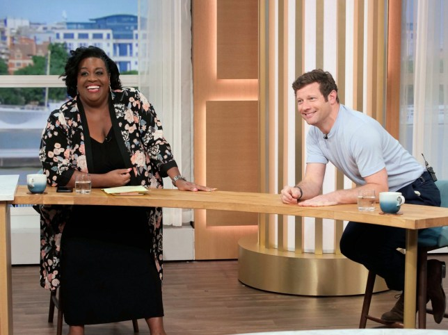 Alison Hammon and Dermot O'Leary on This Morning