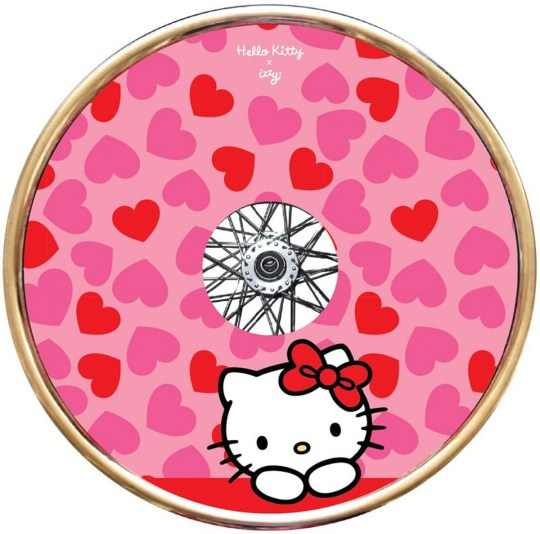 Izzy Wheels and Hello Kitty wheelchair cover