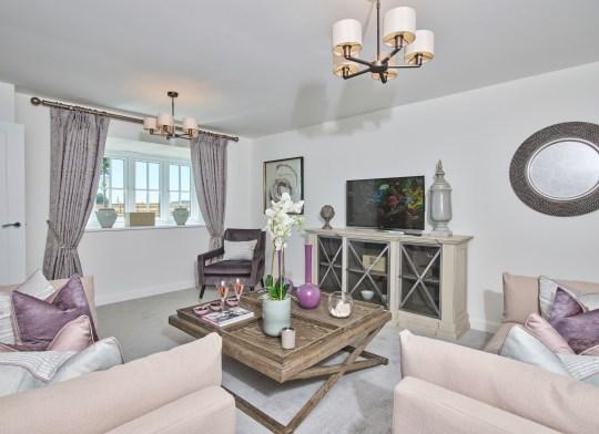 Fornham Place interiors living room