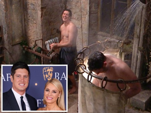 I'm A Celebrity 2020: Tess Daly thirsts over husband Vernon Kay having a shower – and she's not the only one