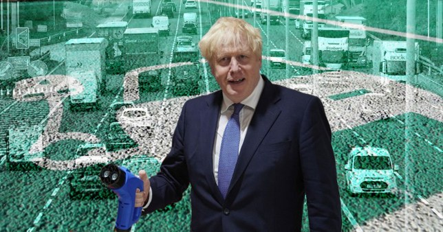 New petrol and diesel cars banned from 2030 under Boris's 'green revolution'