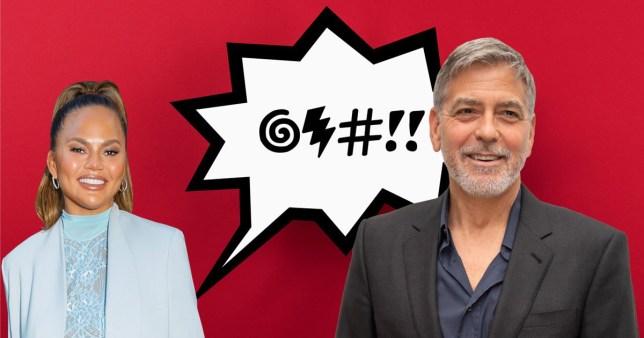 George Clooney is a big fan of Chrissy Teigen's clapbacks