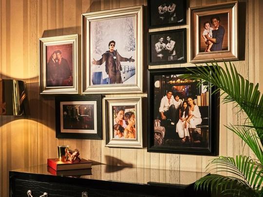 Wall at Shah Rukh Khan's home