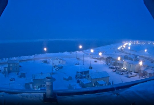 ?Polar night? arrives in Alaska town which brings 66 days of darkness Picture: University of Alaska Fairbanks