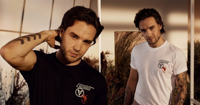 Liam Payne modelling new Hugo Boss collection