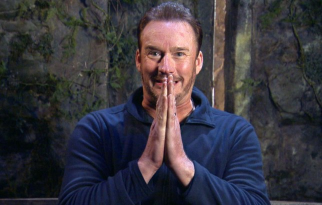 STRICT EMBARGO - NO PUBLICATION BEFORE 22:15 GMT Thursday 19th November 2020. Editorial use only Mandatory Credit: Photo by ITV/REX (11023783cr) Jester Secret Mission, part 3 - Russell Watson 'I'm a Celebrity... Get Me Out of Here!' TV Show, Series 20, Show 5, Gwrych Castle, Wales, UK - 19 Nov 2020