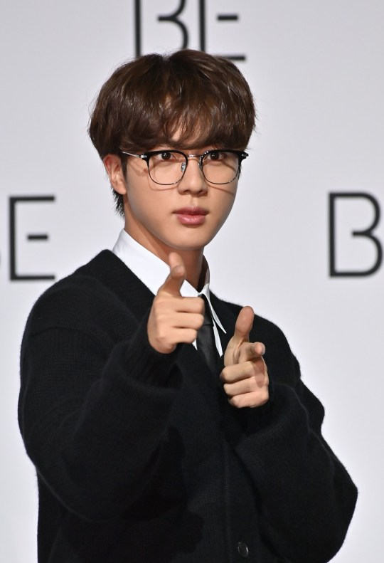 BTS star Jin