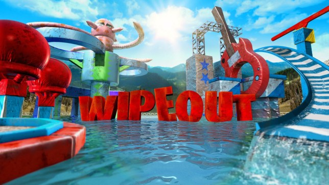 Logo for US television show Wipeout
