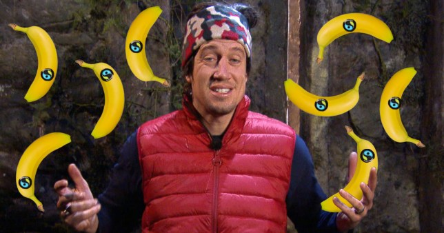 I'm a Celebrity - Vernon Kay's worst job was sticking the stickers on bananas