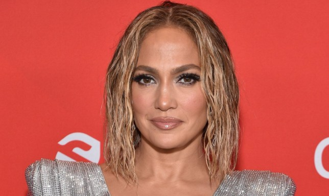 Jennifer Lopez at the American Music Awards
