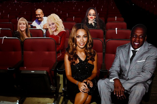 American Music Awards 2020 audience