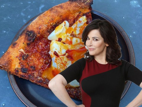 Does egg belong on pizza? Nigella Lawson divides fans with Holly Willoughby dubbing it 'something out of the bin'