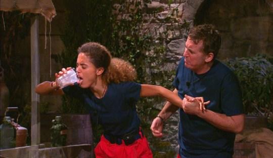 Jessica Plummer and Shane Richie