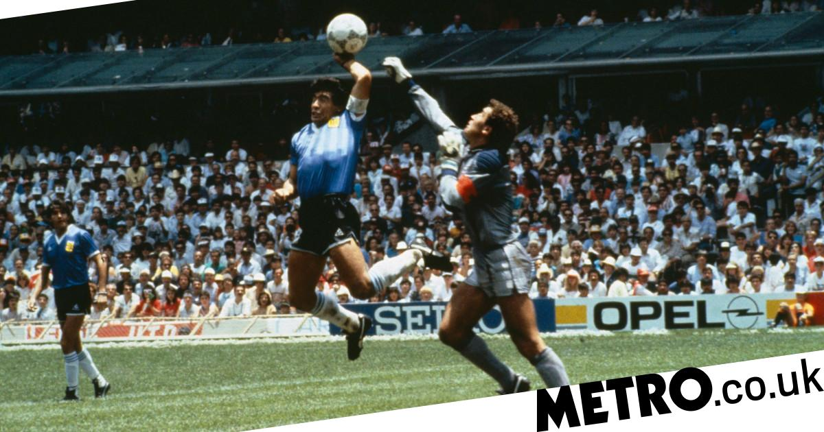Peter Shilton criticises Diego Maradona over 'Hand of God' goal after Argentine's death - metro
