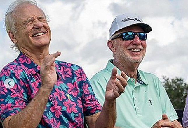 Bill Murray with brother Ed Murray