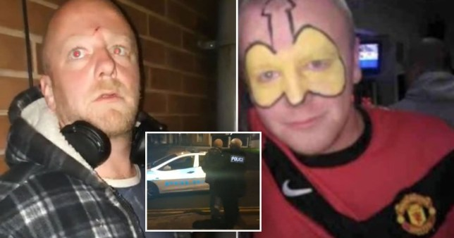 Paedophile Christopher Dalton, who was confronted by paedo-hunter group Our Team in Middleton, near Rochdale, Greater Manchester on a Facebook Live stream viewed by thousands of people