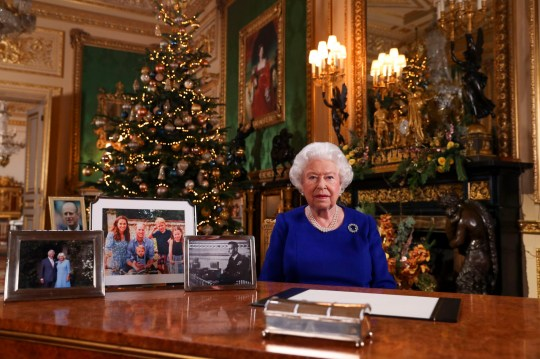 Undated file photo of Queen Elizabeth II recording her annual Christmas broadcast last year in Windsor Castle, Berkshire. The Queen's royal Christmas will be a very different affair this year. Traditionally, the royal family descend en masse to the Sandringham estate for a festive stay with the monarch. But, like the rest of the nation, the Queen and her relatives will have to carefully chose who to have in their Christmas bubble, and where to stay. PA Photo. Issue date: Thursday November 26, 2020. See PA story ROYAL Christmas. Photo credit should read: Steve Parsons/PA Wire