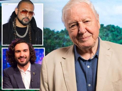 Sir David Attenborough, Joe Wicks, Sean Paul and Chanel the parrot lead Radio 1 Lockdown Awards winners