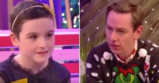 Saoirse Ruane and Ryan Tubridy