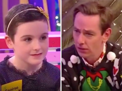 Late Late Toy Show: Viewers in awe of 'inspirational' eight-year-old girl Saoirse