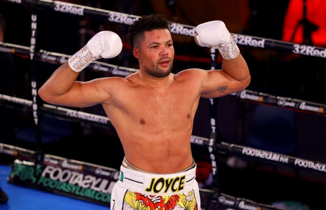 Joe Joyce showed impressive heart in his win over Daniel Dubois