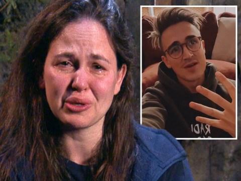 I'm A Celebrity 2020: Giovanna Fletcher's husband Tom struggles to watch as she breaks down over treat