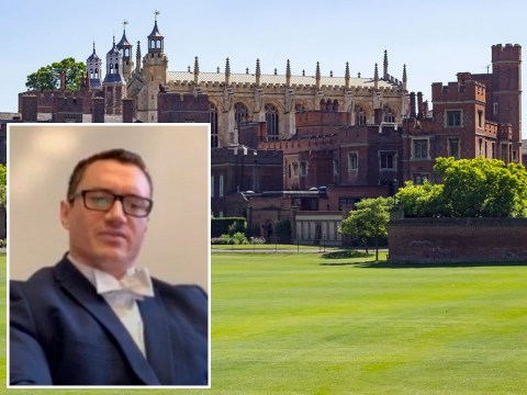 Eton defends sacking teacher over 'sexist' lecture as pupils call for his return