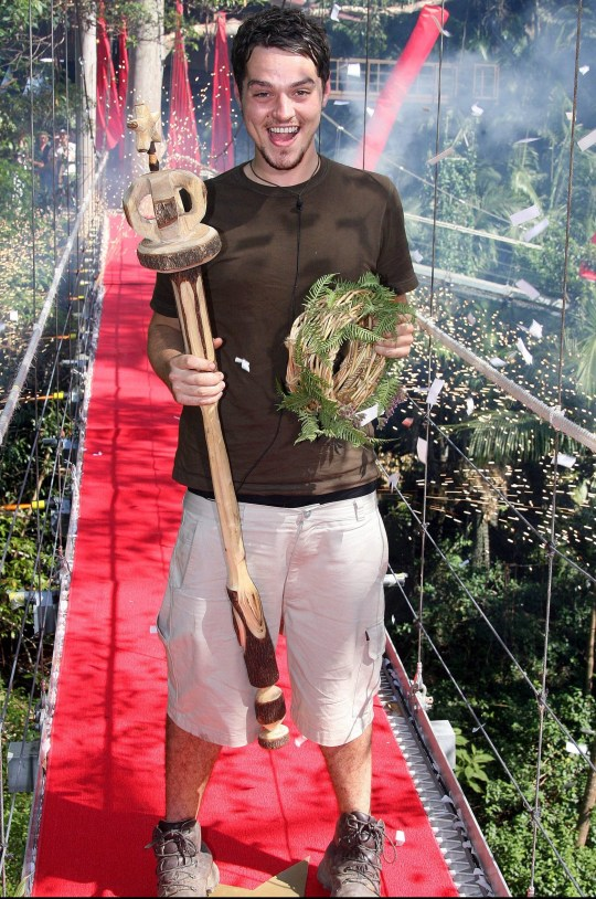 Matt Willis wins I'm A Celebrity