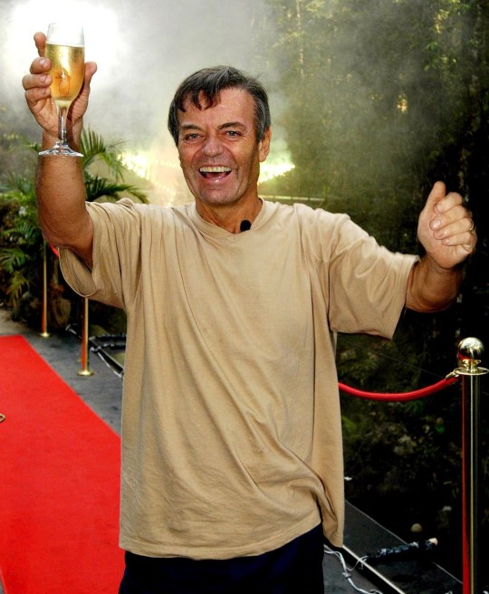 Tony Blackburn wins I'm A Celebrity