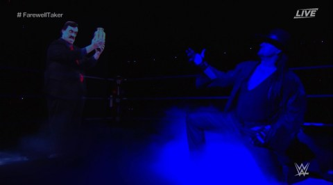 WWE: Undertaker's late manager Paul Bearer returns as hologram | Metro News
