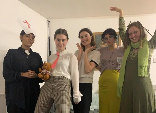 'Rowan'-themed night fancy dress party