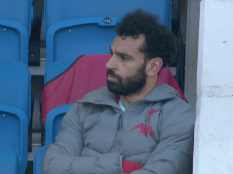 Mohamed Salah left fuming after Jurgen Klopp substitutes him against Brighton
