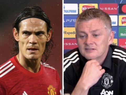 Ole Gunnar Solskjaer backs Edinson Cavani to make 'big impact' after Roy Keane criticism