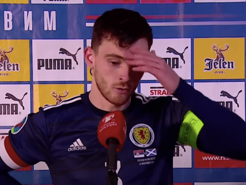 Andy Robertson admits he was 'worried' about his hamstring during Scotland's dramatic penalty shootout victory