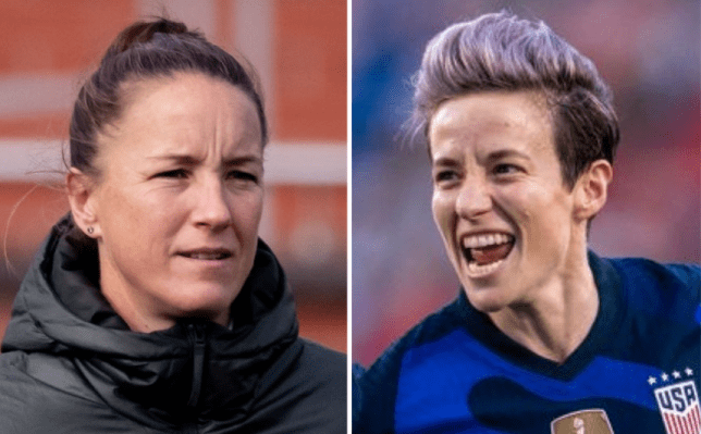 Megan Rapinoe was critical of Manchester United for their attitude towards women's football