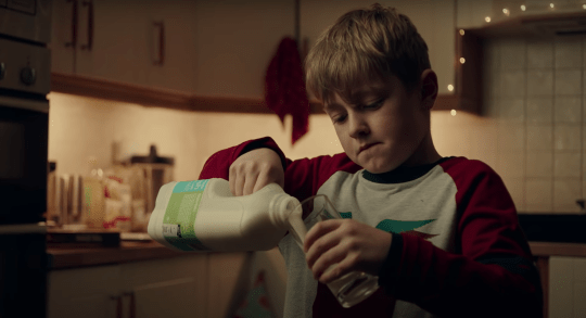 Conor in SuperValu Christmas advert 2020