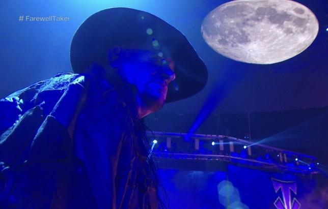 WWE legend The Undertaker final farewell at Survivor Series