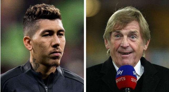 Kenny Dalglish has defended Liverpool striker Roberto Firmino