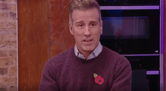 Anton Du Beke on Steph McGovern's Packed Lunch
