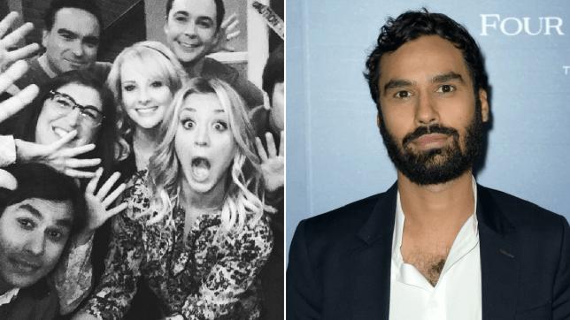 Big Bang Theory cast and Kunal Nayyar