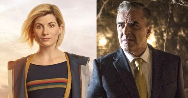 Jodie Whittaker and Chris Noth
