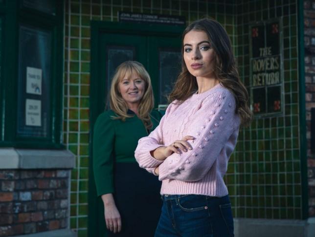 Daisy and Jenny in Coronation Street