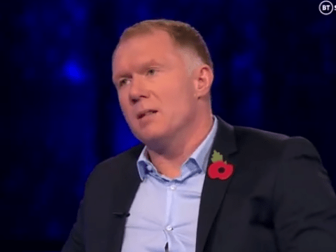 Paul Scholes  compares Marcus Rashford and Mason Greenwood to former Manchester United star Luis Nani