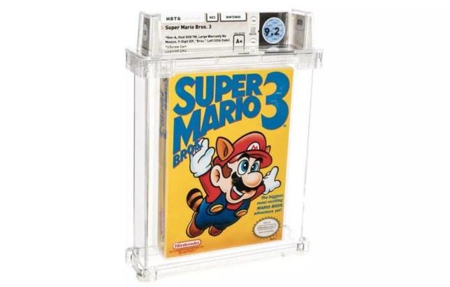 Super Mario Bros. 3 record breaking auction