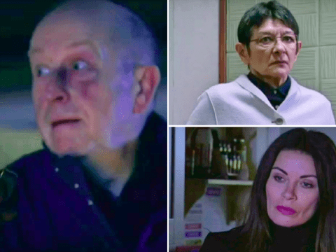 Coronation Street spoilers: New 60th anniversary trailer reveals Geoff's fiery revenge, Yasmeen's fate and Carla exposed