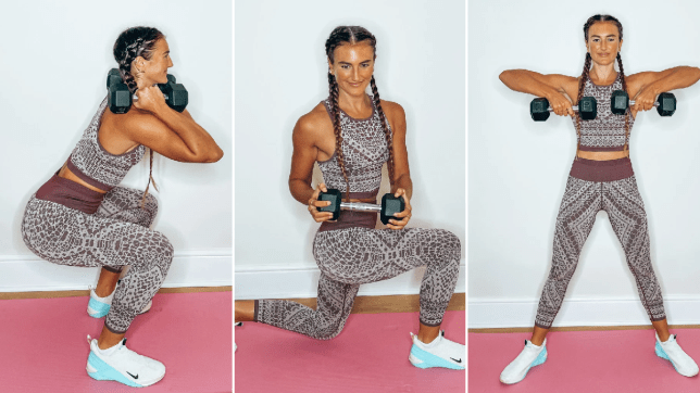 Home workout moves