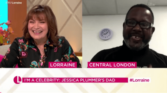 Lorraine Kelly and Jessica Plummer's dad Keith