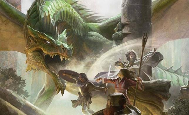 Dungeons & Dragons artwork