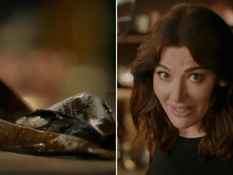 Nigella Lawson's plans for a banana skin has really floored viewers