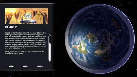 Flat Earth Simulator screenshot